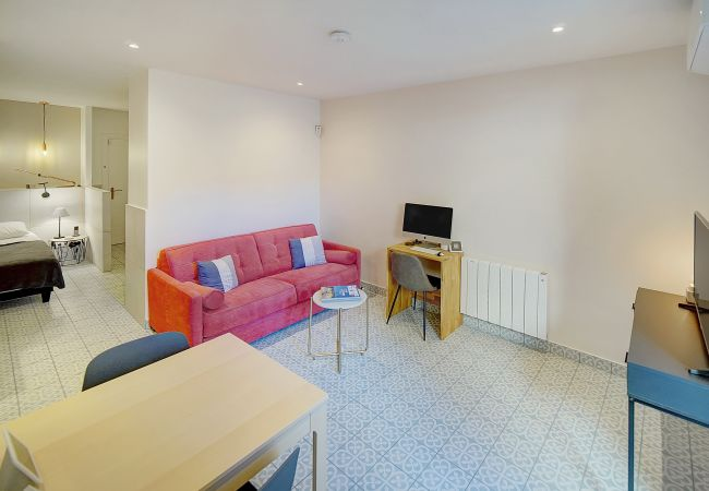 Apartment in Cannes - ⚜️Cannes-Large studio with terrace 2mn from Palais❤️