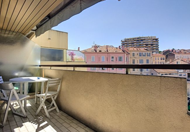 Apartment in Cannes - ⚜️Cannes-2p terrace 2mn Palais❤️