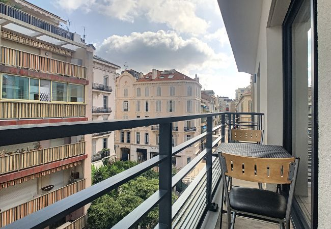 Apartment in Cannes - ⚜️Cannes - 1 bedroom balcony in the city heart ❤️