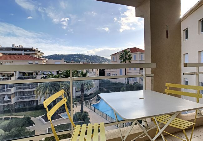 Apartment in Cannes - ⚜️Cannes- Quiet 1 Bedroom with swimming pool❤️