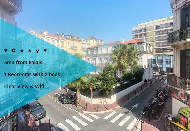 Appartement à Cannes - ⚜️Cannes-2 pièces cosy 5mn du Palais❤️
